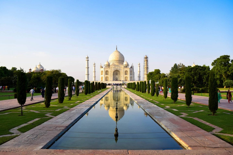 India's Golden Triangle, the Taj Mahal