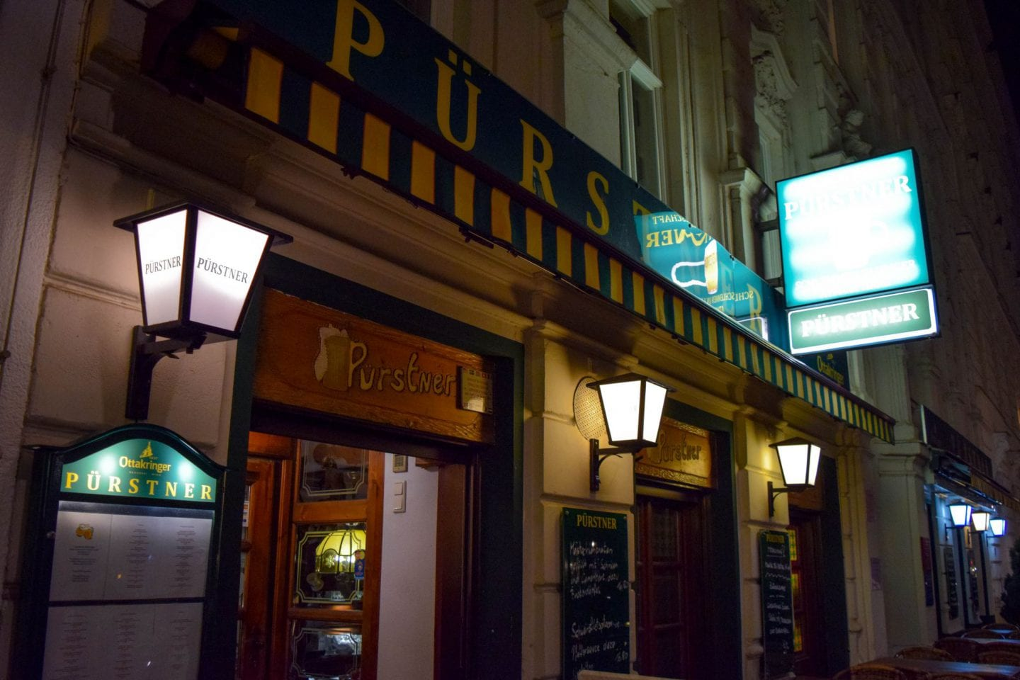 Where to eat in Vienna as a vegetarian: Purstner