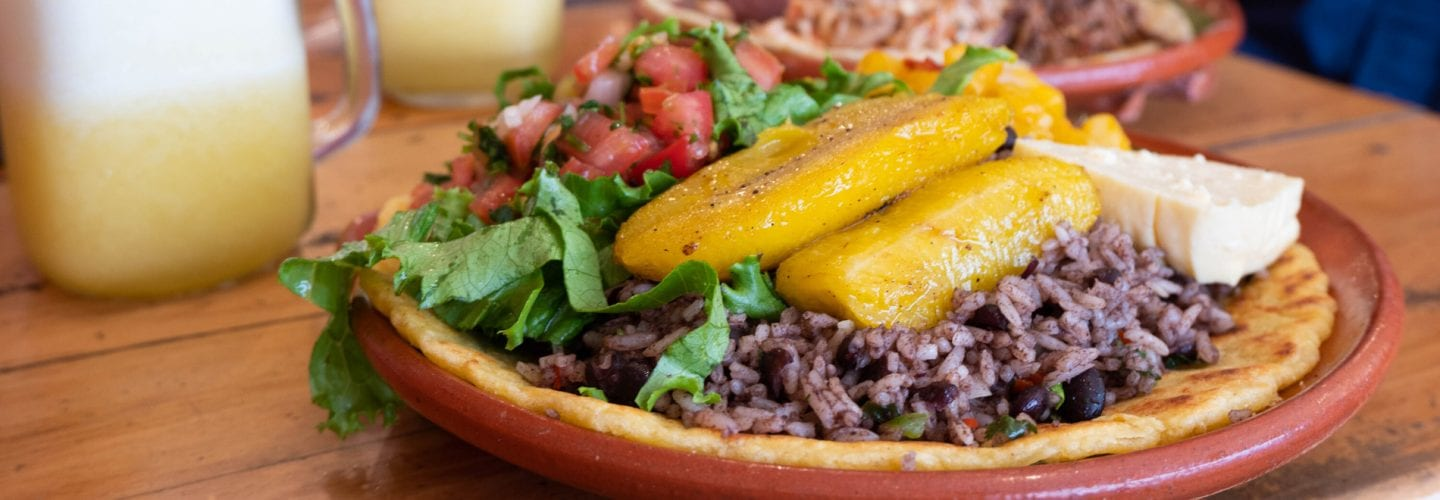 Vegetarian food in Costa Rica