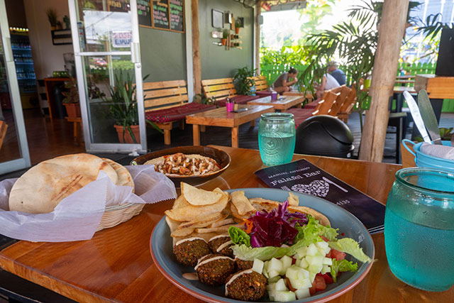 Falafel Bar in Manuel Antonio