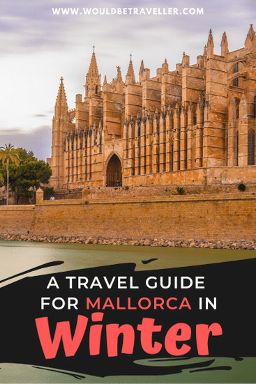Mallorca in winter pin