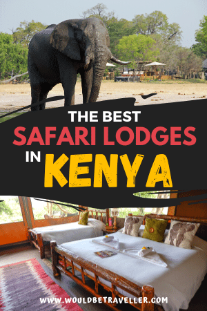 Best Safari Lodges in Kenya pin