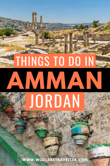 Things to do in Amman pin