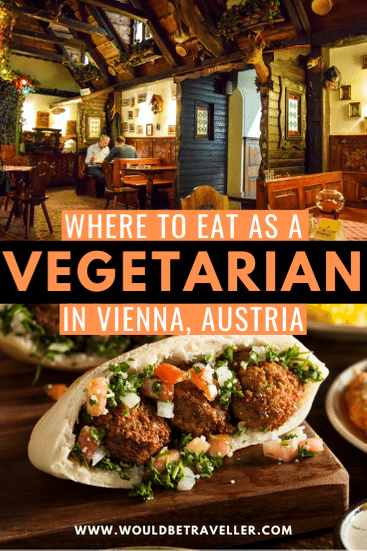 Where to eat in Vienna as a vegetarian pin