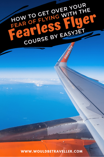 easyJet Fearless Flyer Course Review pin