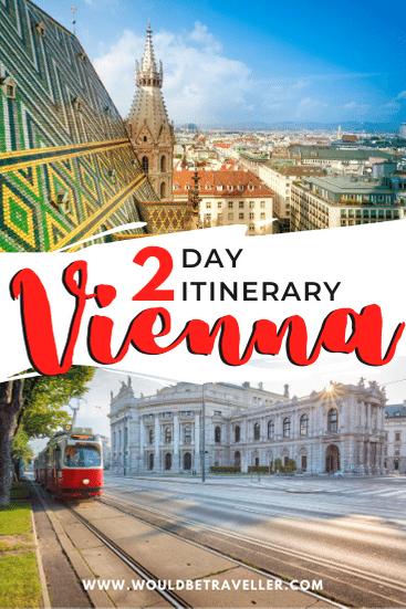 2 days in Vienna pin