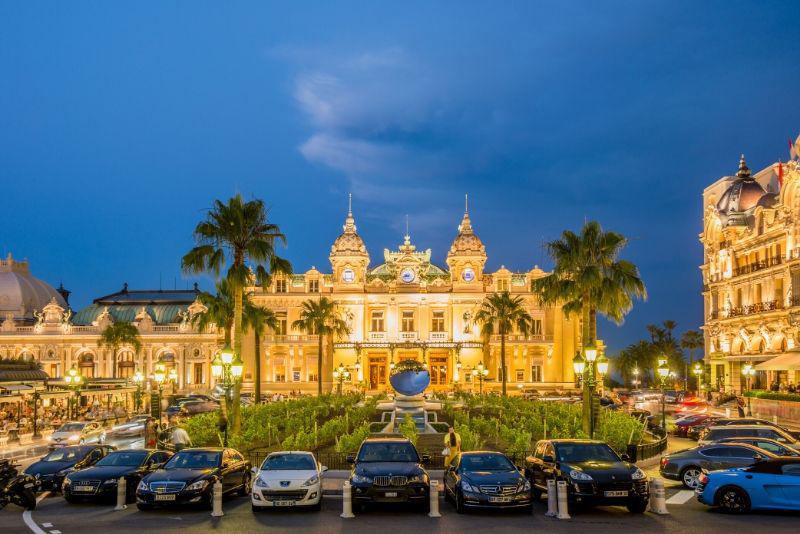 Casino Square in Monaco