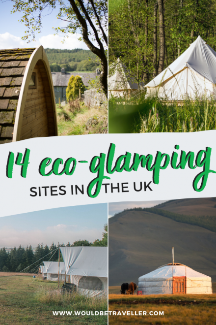 Eco-glamping sites in the UK pin