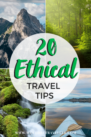 Ethical Travel Tips pin