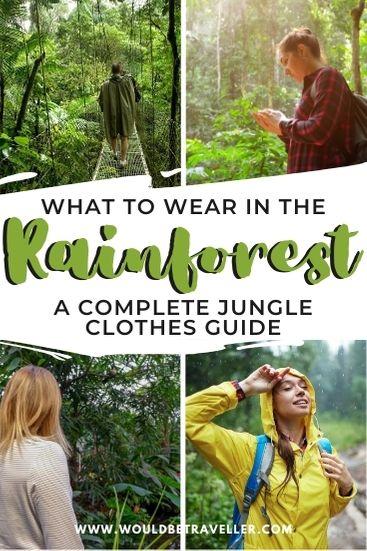 Jungle clothes pin