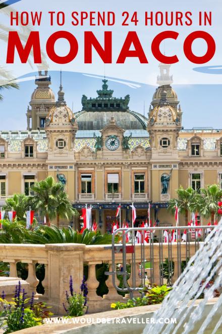 24 hours in Monaco pin