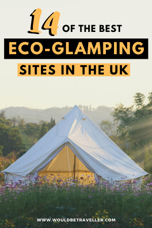 Eco-glamping in the UK pin