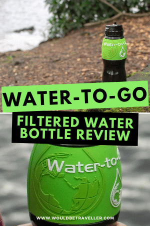 Water-to-go Water Bottle Review pin