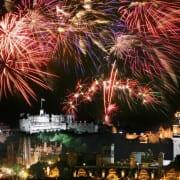 Edinburgh on New Year's Eve