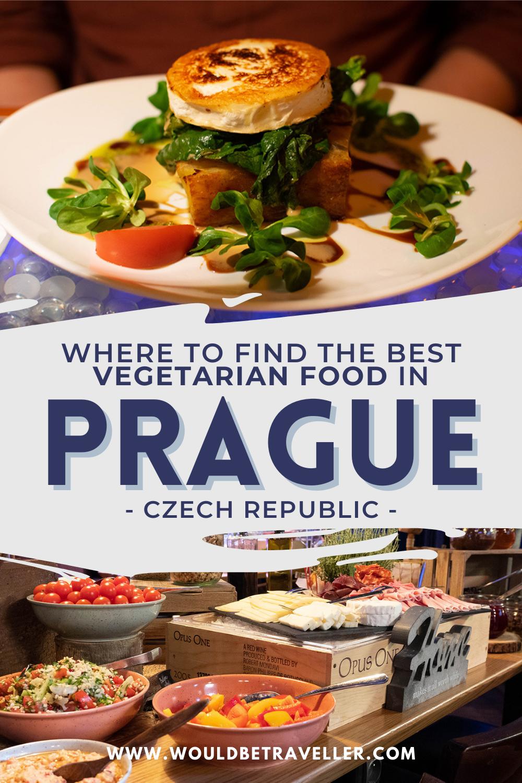 Vegetarian and vegan food in Prague pin