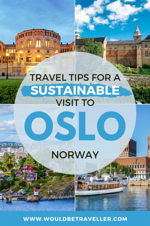 Eco-friendly Oslo pin