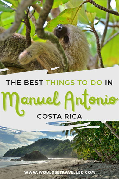 Things to do in Manuel Antonio pin