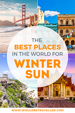 Best places for winter sun pin