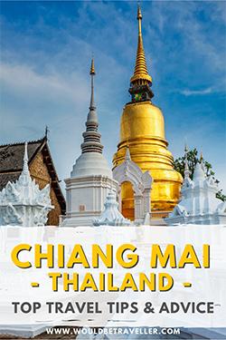 Chiang Mai top tips pin
