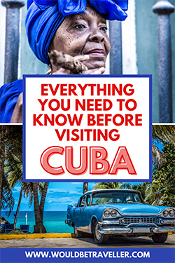 What to know before travelling to Cuba pin